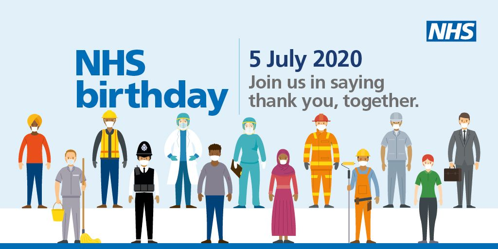 As the NHS turns 72, we want to say thank you